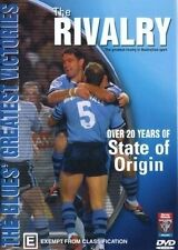 Rivalry - NSW State Of Origin 1980-2003 vs QLD (DVD, 2003)