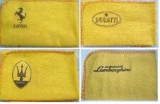 Maserati, bugetti, Ferrari o Lamborghini: Calidad Paño de Limpieza Limpiador Con Logotipo