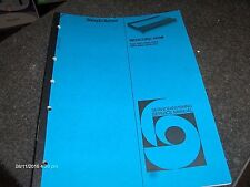 Bang & Olufsen Service Manual Beocord 5000 Type 4921-4927