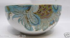 222 FIFTH ELIZA SPRING BLUE ~ SOUP / CEREAL BOWL(S)  Fine China ~ PAISLEY FLORAL