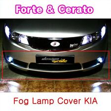 (Fits: KIA 08-11 Cerato Forte 4 Door ) Fog light cover conversion kit Black