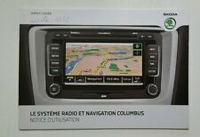 Skoda Systeme de Navigation Columbus 05/2011 French //00097