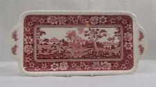Villeroy & and Boch RUSTICANA RED long cake / sandwich plate / tray 33cm