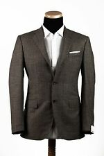 New CARUSO Wool and Cashmere LORO PIANA Gray 3Roll / 2Buttons Suit 40US 50EU