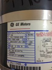 GE Motors 5KH39QNA0388BX 1/8 HP 60/50Hz A-C Motor Thermally Protected Used