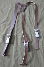 WWII GERMAN LIGHT WEIGHT LEATHER EQUIPMENT Y-STRAPS