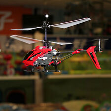 Red Syma S107G 3 Channel Infrared RC Helicopter with Gyro Double Protection UK