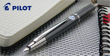 Pilot Vanishing Point Pen Fine nib Gray Rhodium Accents with converter(CON-40)