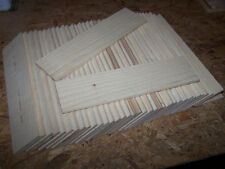 "TWENTY FOUR (24) THIN KILN DRIED SANDED MAPLE 12"" X 3"" X 1/4"" LUMBER WOOD"