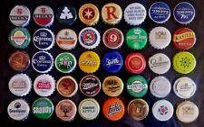 Lot of 40 beer bottle caps !!! Different countries !!!
