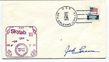 1973 Skylab3 Manned Spacecraft Recovery Force USS New Orleans Space Cover SIGNED