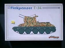Dragon - Flakpanzer T-34 Smart Kit Model 6569 1:35 NEW Cyber-Hobby