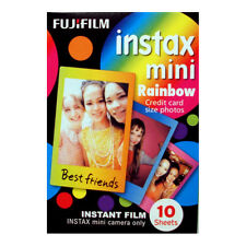 Fuji INSTAX mini / Polaroid 300  RAINBOW Instant Film - Free UK Delivery