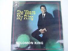 SOLOMON KING - SHE WEARS MY RING - 1968 LP