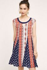 NWT SZ XL ANTHROPOLOGIE CANADICE SWING DRESS BY MAEVE ADORABLE COMFY FAVE!!