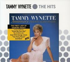 Anniversary-20 Years Of Hits - Tammy Wynette (1987, CD NIEUW)