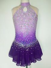 CUSTOM MADE ICE SKATING BATON TWIRLING DRESS COSTUME