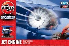 Airfix a20005 JET ENGINE REAL WORKING modello in plastica KIT Free Tracked 48 UK POST