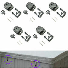 5 Key Lockable Safety Buckle Latch Pool Spa Lock Hot Tub Cover Boat Backpack Bag