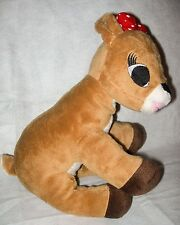 Clarice Rudolph the Red Nosed Reindeer Commonwealth Plush Stuffed Animal Holiday