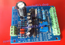 Dual Stereo VU Meter Driver Board Verstärker DB Audio Level AC 12V Input Backlit