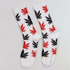 UK Newest Women Men Marijuana Long Cotton Sport Weed Leaf Socks Ankle Sock Crew