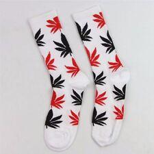 UK Newest Women Men Marijuana Long Cotton Sport Weed Leaf Socks Ankle Sock Crew