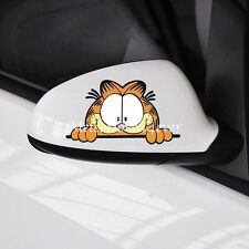 Garfield Cute Cartoon Car Stickers Side Mirror Door Rear Window Decal Sticker