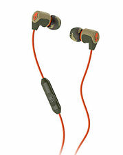 Skullcandy Riff Mob In-Ear Headphones Noise Isolating Earphones & Mic - Camo/Tan