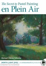 NEW! The Secret to Pastel Painting en Plein Air with Michael Chesley Johnson DVD
