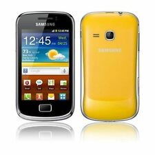 Samsung Galaxy Mini 2 GT-S6500 - Yellow (Unlocked) Smartphone - Grade B
