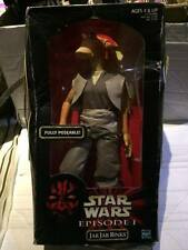 "Sealed Star Wars 12"" Figure - JAR JAR BINKS - Episode 1 Phantom Menace - Hasbro"