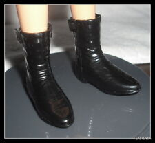 SHOES BARBIE DOLL KEN #1 HARLEY DAVIDSON BLACK RIDING BOOTS SHOES ACCESSORY