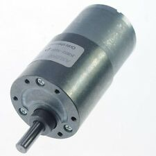 12V 1000RPM Ouput Speed  Geared Gearhead DC Motor shaft 6mm Ratio 1:10