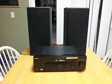 Sony Stereo FM/AM Receiver STR-DE185 w/ SS-MB300H Speakers ~ Watch Demo Video
