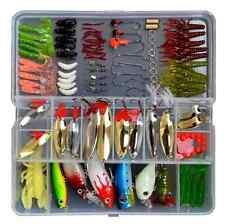 Eco Me Fishing Lures Tackle Box Fishing Baits Set 119 Piece Fishing Accessories