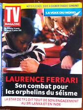 TV Magazine 16/01/2005;Tsunami et Laurence Ferrari/ V. Mounier/ Frank Michael