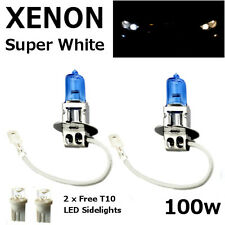 H3 100w SUPER WHITE XENON (453) Head Light Bulbs 12v - APRILIA RS 125