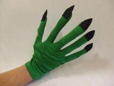 Alien Hands ~ Witch ~ Space ~ Sci fi ~ Insect ~ Green Gloves ~ Halloween