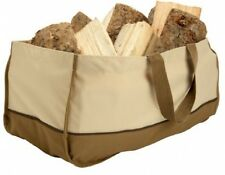 Jumbo Fire Log Carrier Tote Holder Logs For Stove Storage Chop Axe Winter Heat