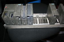 SIEMENS SIMATIC GRUPPE LOT S7 300 IM153-2 SM321 PS307 RACK PLC CPU