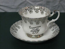 Royal Albert 25th Anniversary Tea cup and Saucer