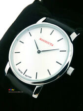Men's Mechanical Watch MASSIOUTA Limited Edition (10pcs) White Dial Gift Box NEW