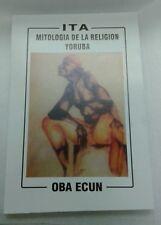 Libro ITA Mitologia de La Religion yoruba  ifa
