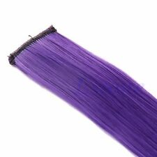 Women 5PCS Multi Color Long Straight Synthetic Clip in on Hair Extensions Piece