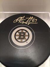 DOUGIE HAMILTON Boston Bruins AUTOGRAPHED Signed NHL Hockey Puck w/ COA