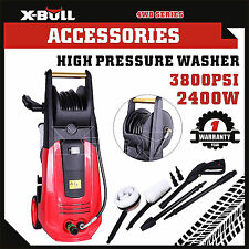 X-BULL High Pressure Water Cleaner Washer 3800 PSI Electric Pump Hose Gurney