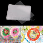 Hot 100Pcs Clear Party Gift Lollipop Chocolate Favor Candy Cello Bags Cellophane