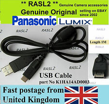 Original Genuina Panasonic Lumix, Cable Usb Dmc-fz40 Dmc-fz38 Dmc-gh1 Dmc-gh2 Gf2