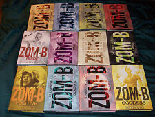 Zom-B 12 Book Lot 1 2 3 4 5 6 7 8 9 10 11 12 Hardcover Complete Set Zombies